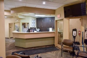 Sandstone Dental | North Calgary Dentist | Main Reception Area
