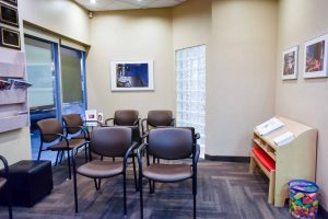 Sandstone Dental | North Calgary Dentist | Waiting Area at Sandstone Dental